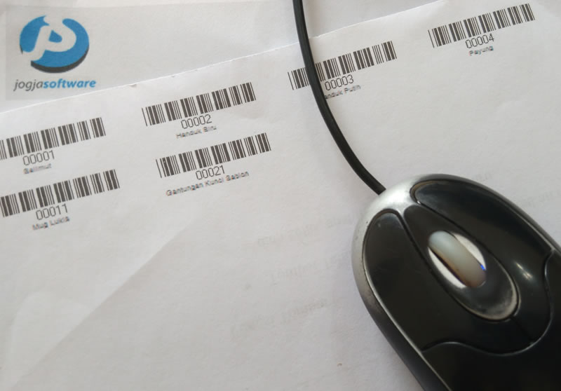 Cetak Label Barcode