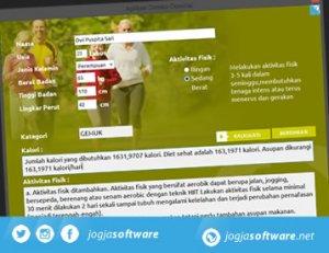 Portfolio Aplikasi Desktop Deteksi Obesitas