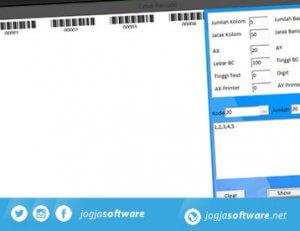 Software Cetak Barcode