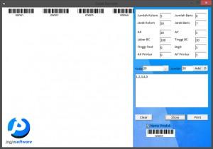 Aplikasi Cetak Label Barcode