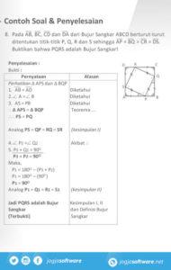 Aplikasi Android Geometri Bidang Soal