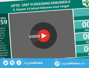 Software Antrian Puskesmas