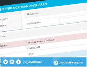 Sistem Informasi Perencanaan Anggaran dan Kegiatan